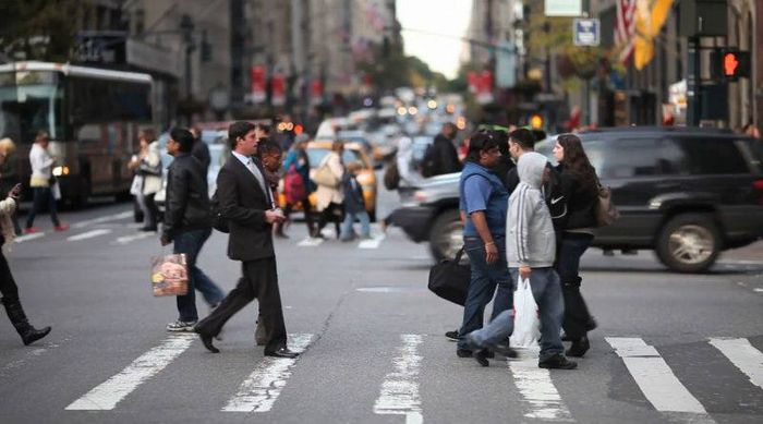 Обгон на пешеходном переходе в 2020 году