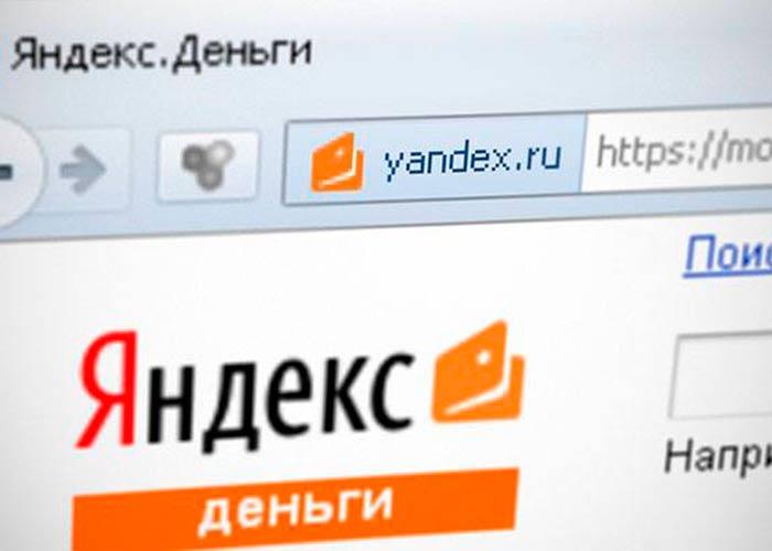 Оплата производится посредством Яндекс Деньги