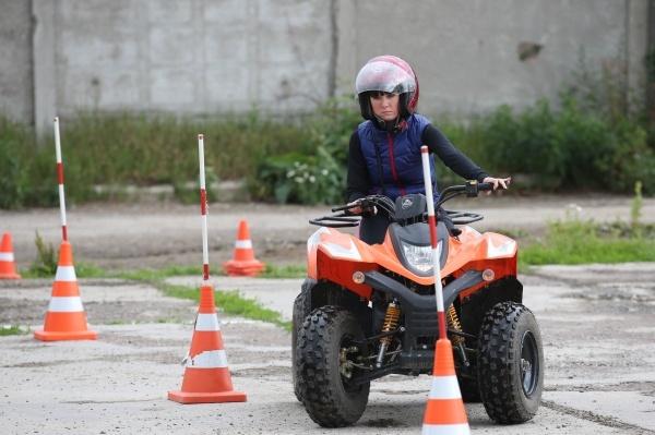 Управление квадроциклом