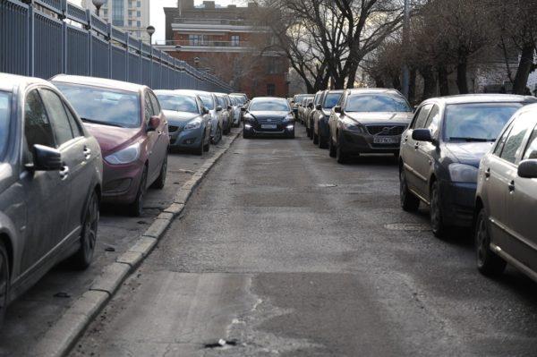 Тротуар и авто