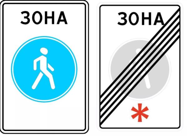 Знаки ПДД